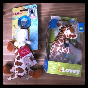 Other - Lovey / wubbanub bundle